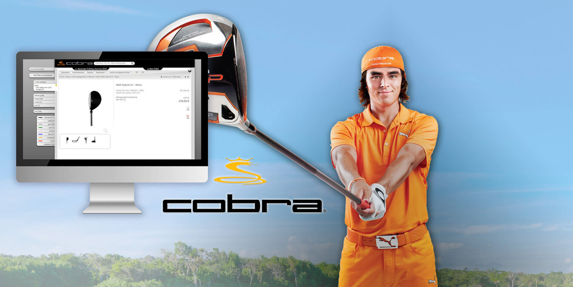 B2B E Business Kunde Cobra Screenshot