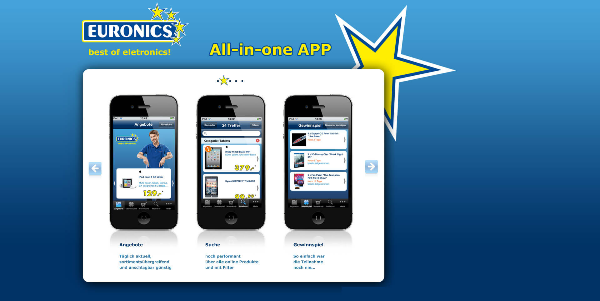 ALL IN ONE APP 4 EURONICS by IconParc