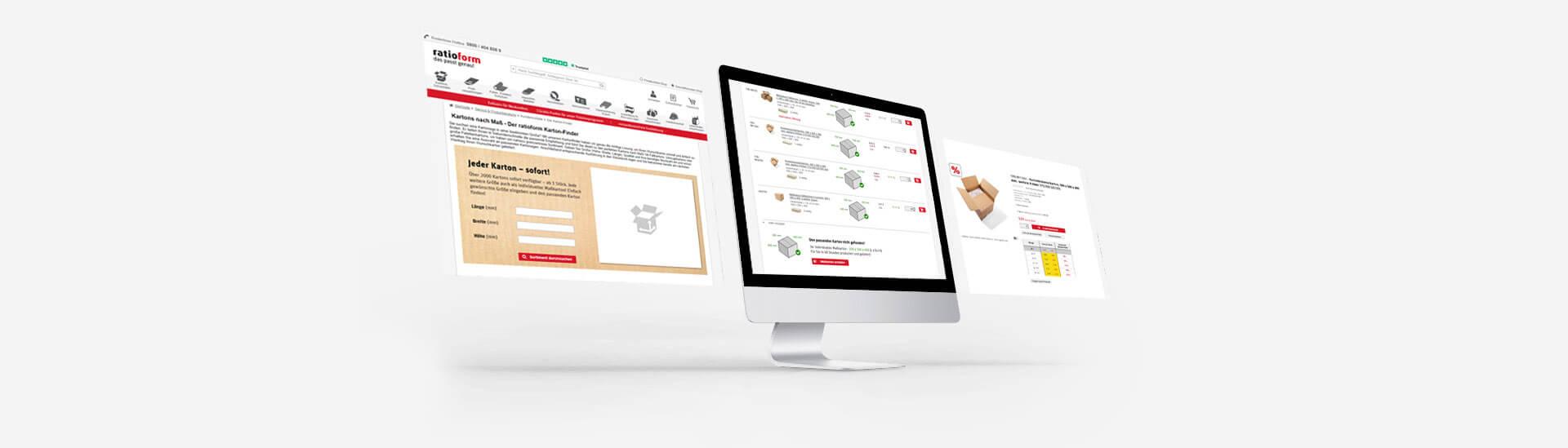 ratioform E Business Kartonfinder