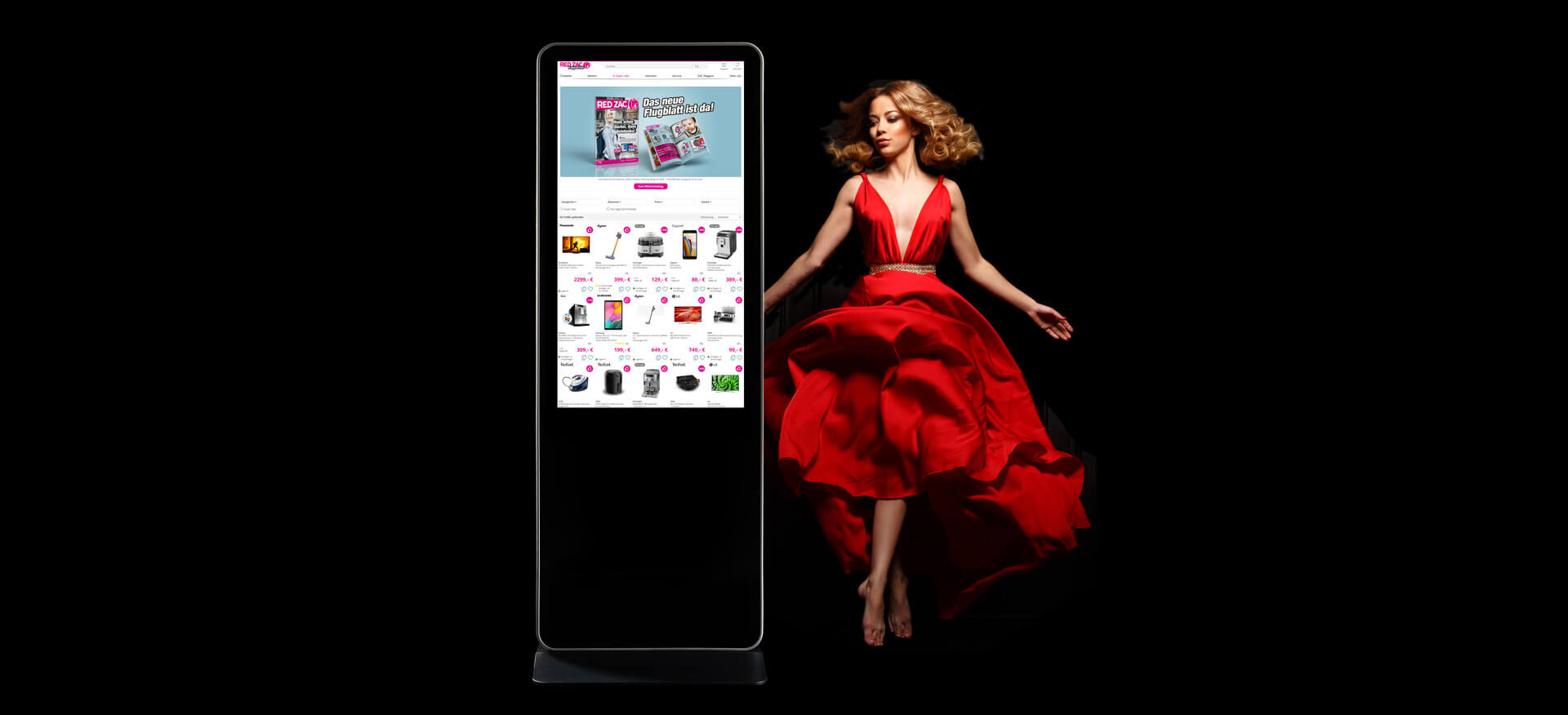 RED ZAC Digital Signage smartZAC