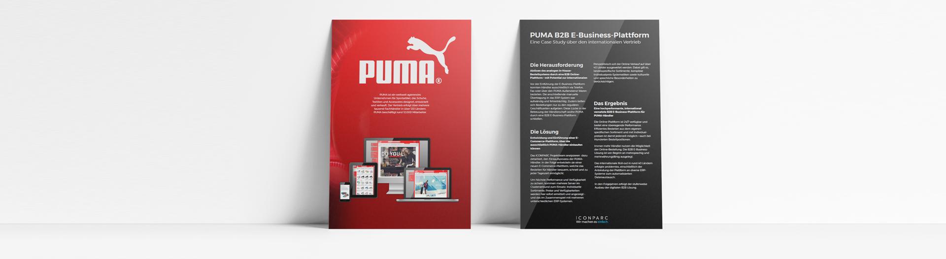 Case Study PUMA B2B E Business by ICONPARC