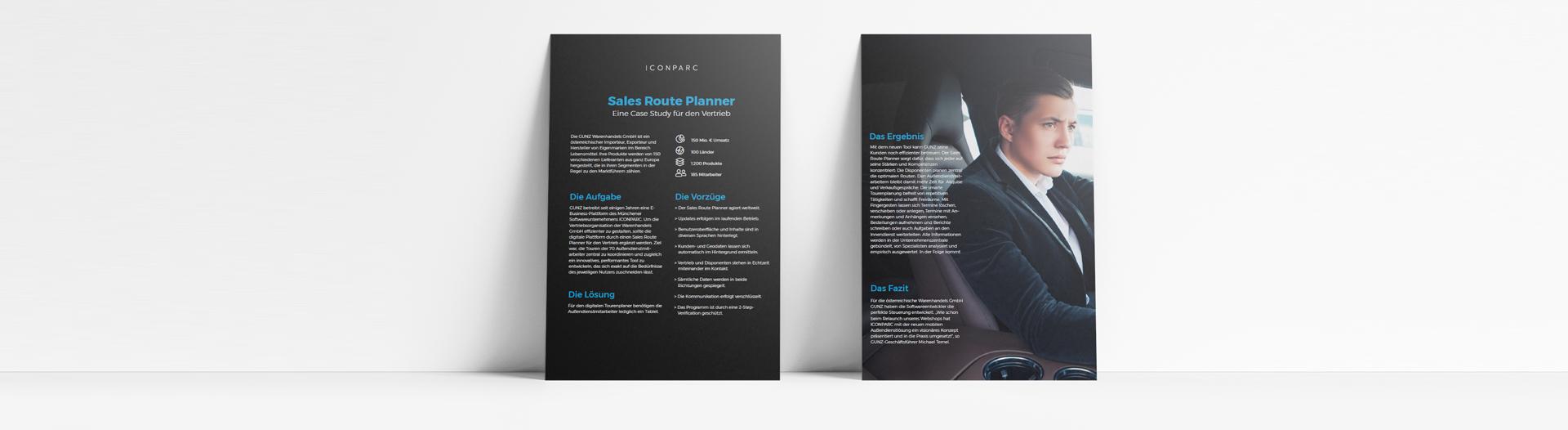 Case Study GUNZ Sales Route Planner